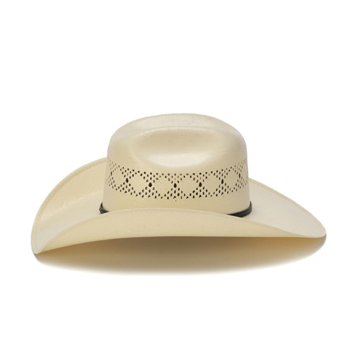 4194d9396b7 Stampede Hats - 50X Shantung Cowboy Hat with Diamond Conchos - Side