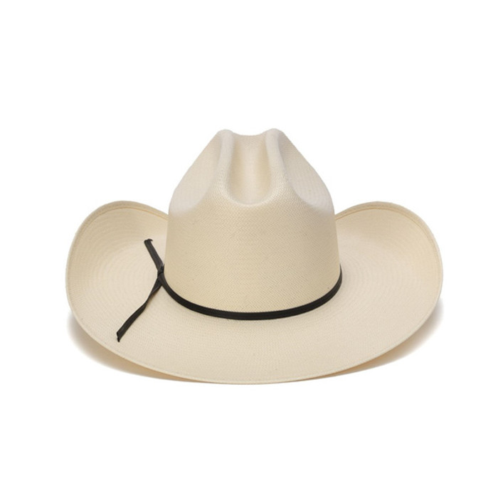 Red or Brown Western Straw Hat with Diamond Holes New