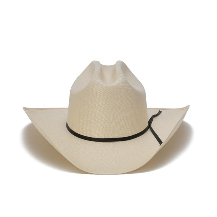 Stampede Hats - 200X Shantung Diamond Vented Western Hat - Front ffe633e4aa2