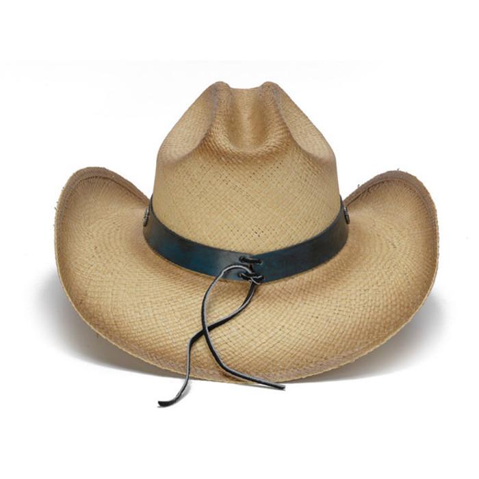5c73fe941a2 Stampede Hats - Flying Eagle Brim USA Flag Cowboy Hat - Back