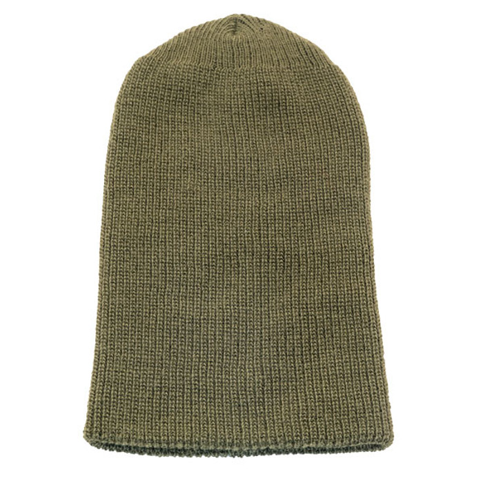 d900636066bb4 Rothco - Acrylic Military Watch Cap in Olive - Unfolded
