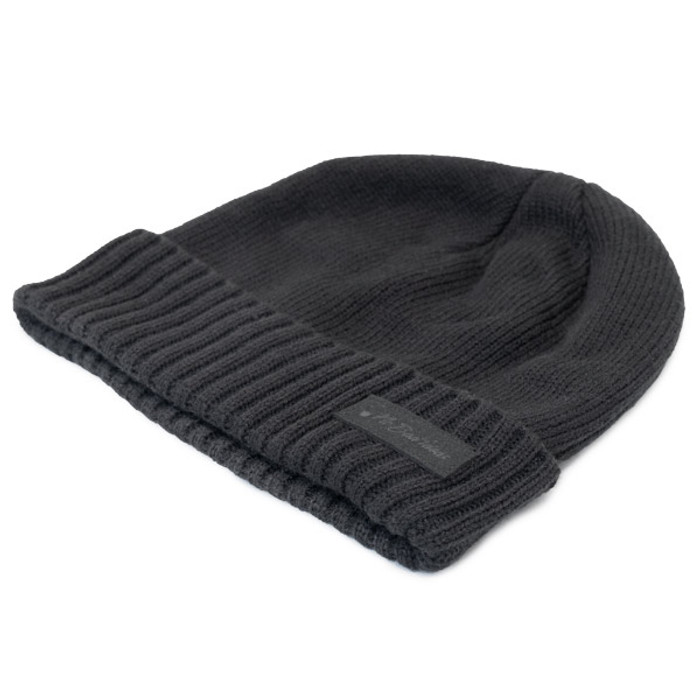 No Bad Ideas - Zander Military Knit Watch Cap w  Patch - Black - Close acb3fa7fb1e