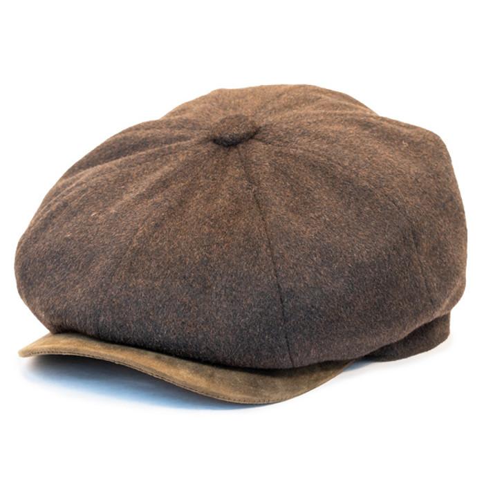 560782b9 Henschel | Wool Blend 8 Panel Newsboy Cap | Hats Unlimited