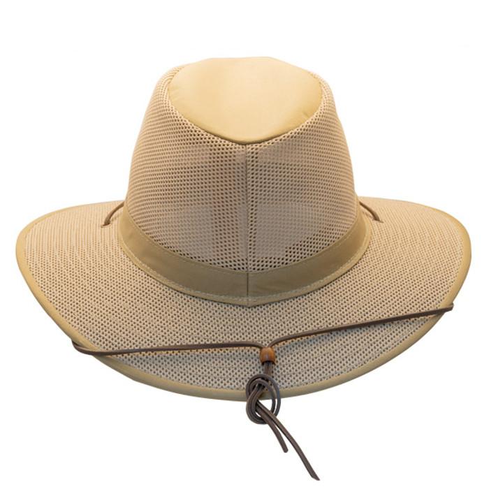 9b608e36b53 Henschel - Aussie Packable Breezer® Safari Sun Hat - Khaki