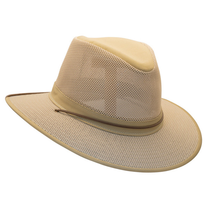 cbbe70ce21e Henschel - Aussie Packable Breezer® Safari Sun Hat - Khaki