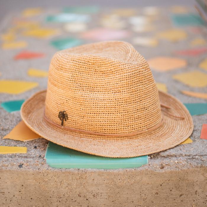 b3a81a29e Sun 'N' Sand - Sophie Fine Raffia Snap Brim Fedora Hat