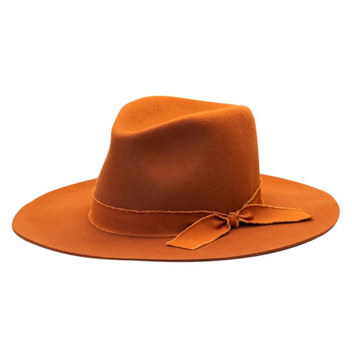 7ff1727ab Olive & Pique - Wool Felt Wide Brim Floppy Panama Hat