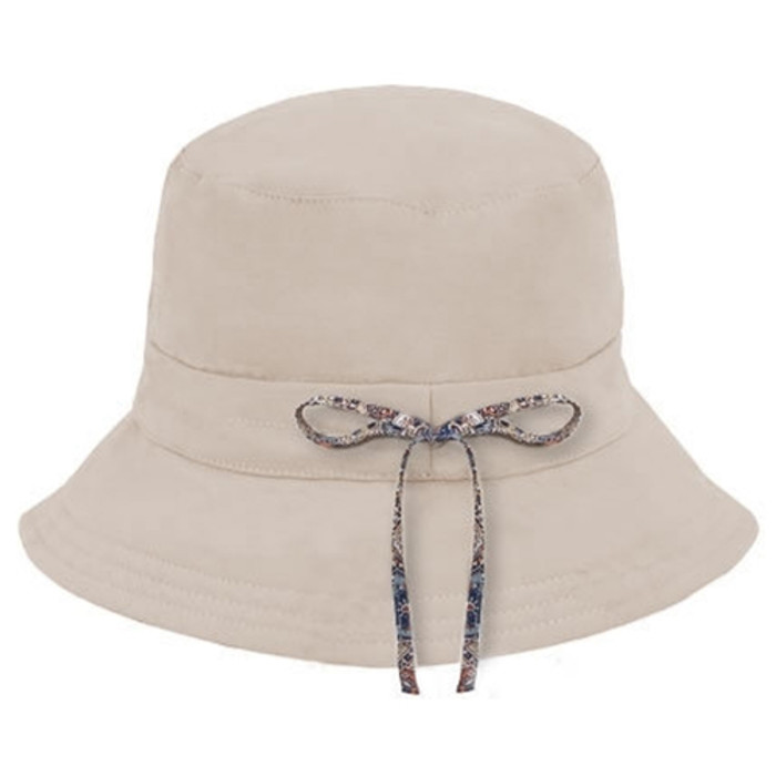 1a4479e27a4 Kooringal - Ladies Reversible Golf Hat in Natural - Back