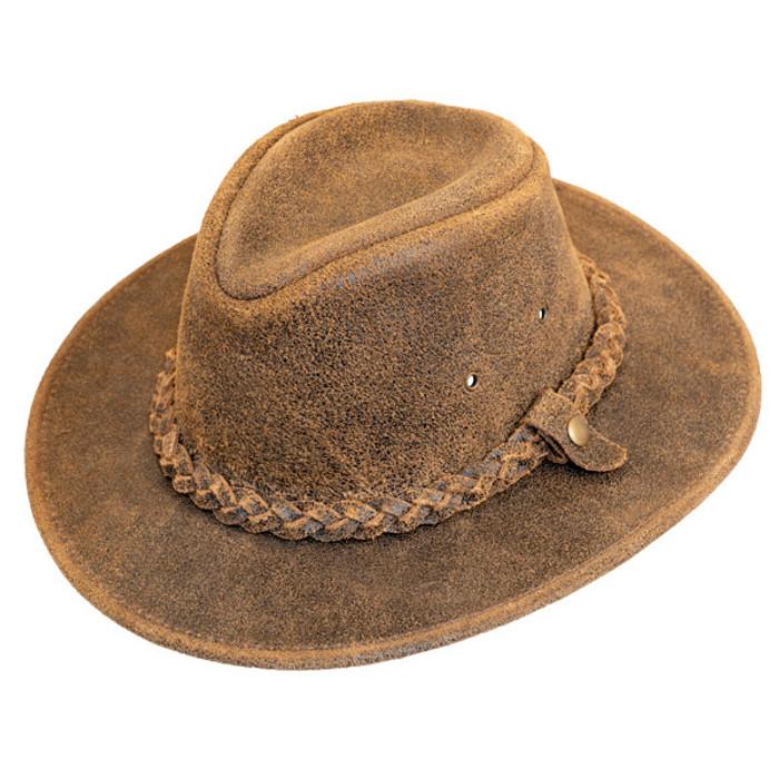 9dee69ef02da2 Henschel Outback Leather Hat -