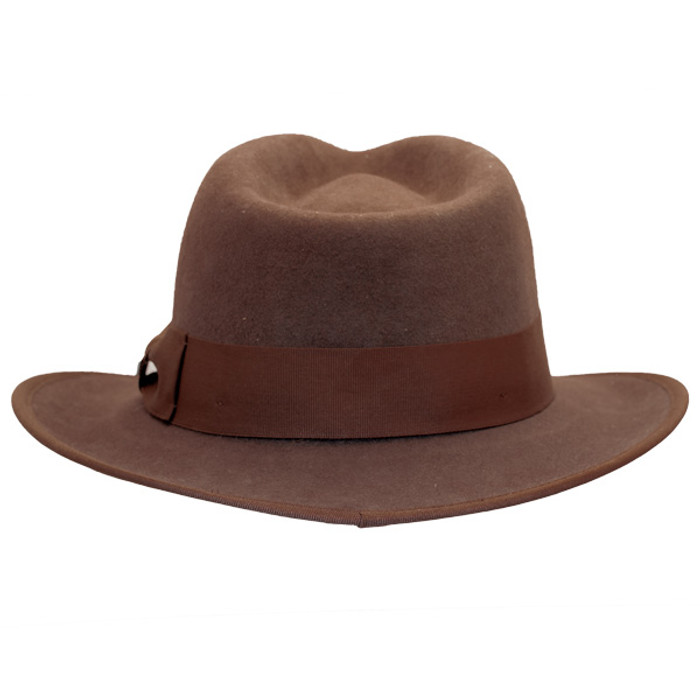 Conner - Indy Fedora in Brown - Back e0b9bc4b9c7
