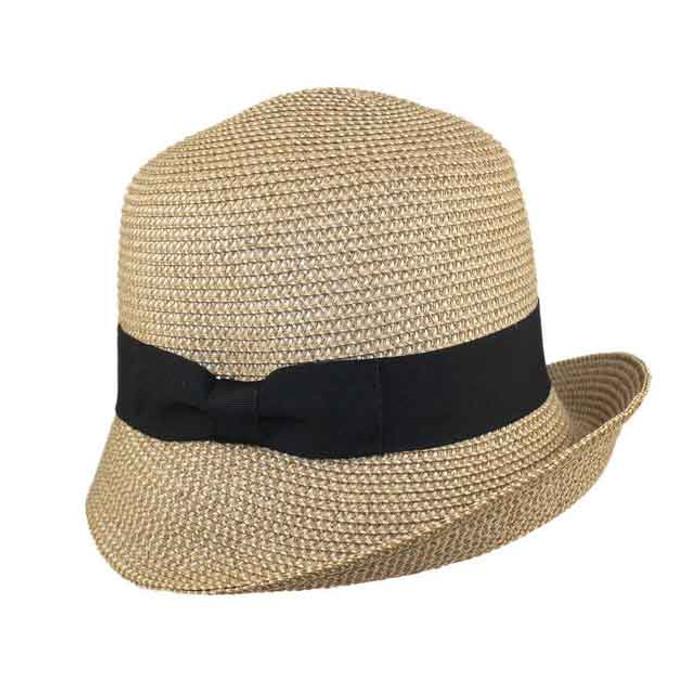 2e08558f55b10 Jeanne Simmons. Jeanne Simmons - Upturn Tweed Cloche Hat