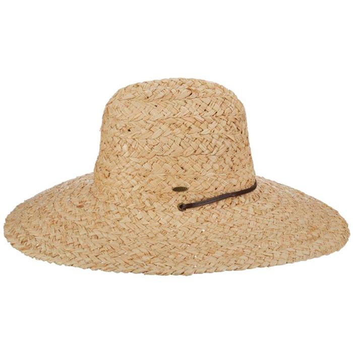 6bdb3f1fced Scala Raffia Lifeguard Hat - Side