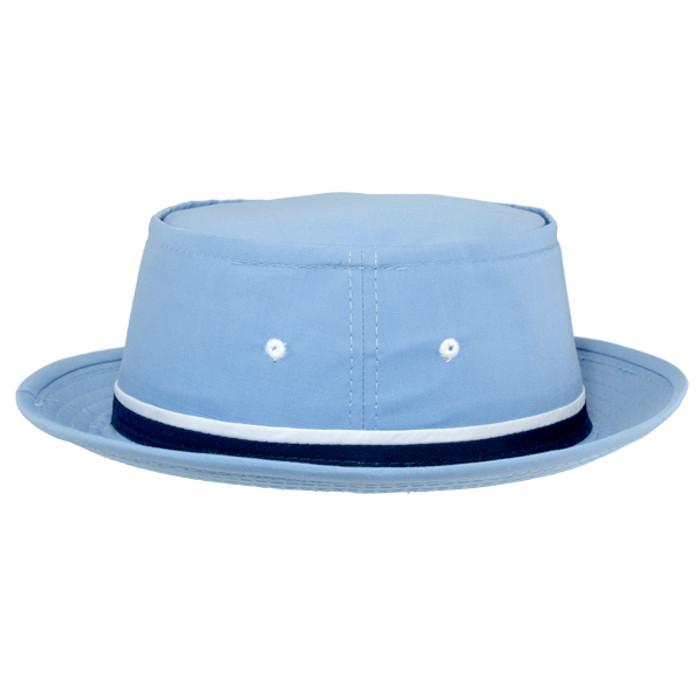Dorfman Pacific - Roll up Bucket Hat - Light Blue - Side b6dedf71e28