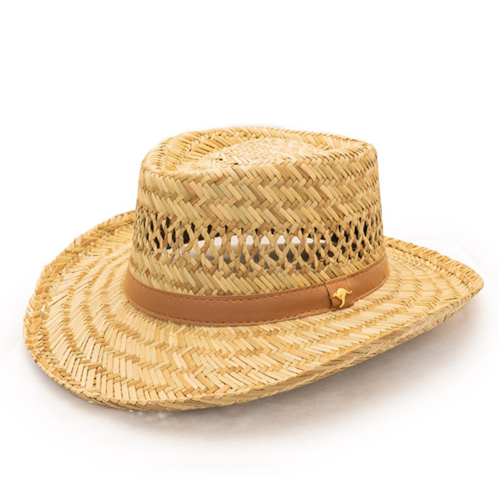 c660d807a Dorfman Pacific - Murray Rush Gambler Straw Sun Hat
