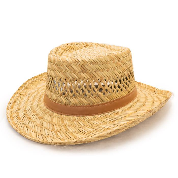Dorfman Pacific - Murray Rush Gambler Straw Sun Hat - Opposite Side 7c1a9c45692