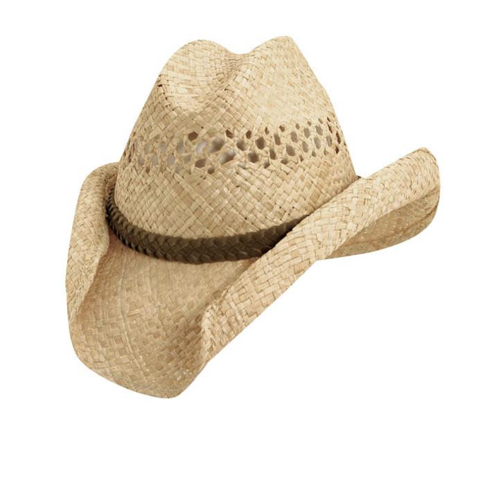 03302d76faa Scala - Western Raffia Sun Hat