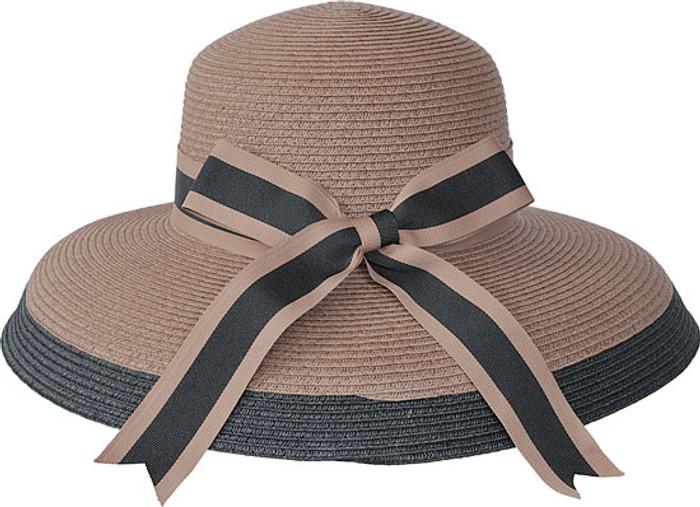 a989afd5a60de Kenny K. Karen Keith - Toyo Braided Cloche Hat