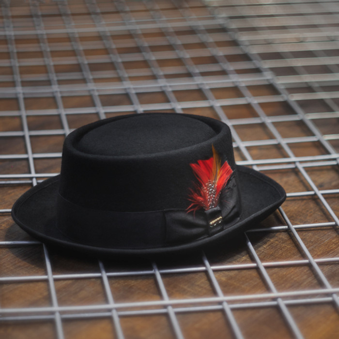 23da9879 Scala | Porkpie Jazz Wool Felt Hat | Hats Unlimited
