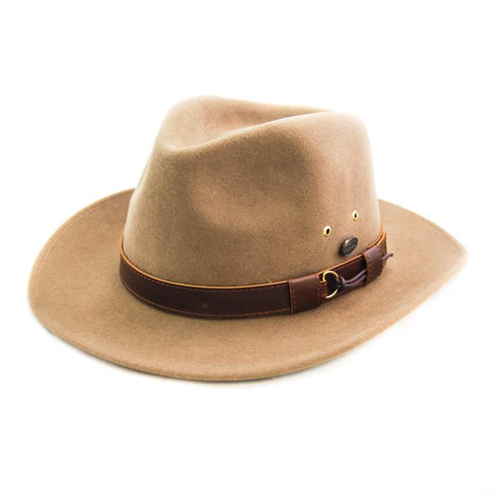Bigalli. Bigalli - Outback Felt Fedora Hat 837fdd31a7e