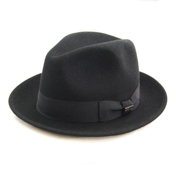 Bigalli - Black Milano Wool Felt Hat ac6422955a1