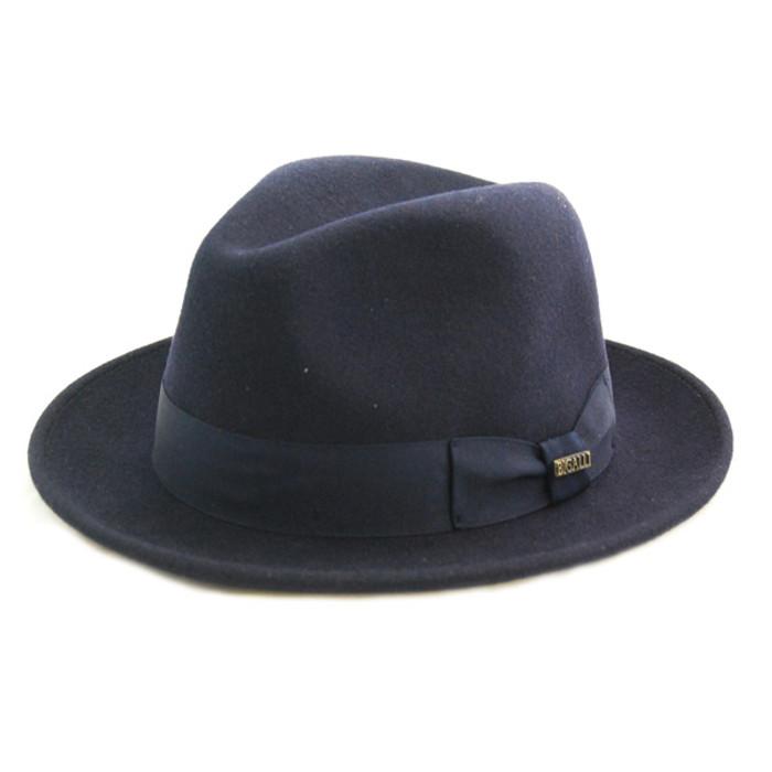 Bigalli - Navy Milano Wool Felt Hat 4cc16b292f3b