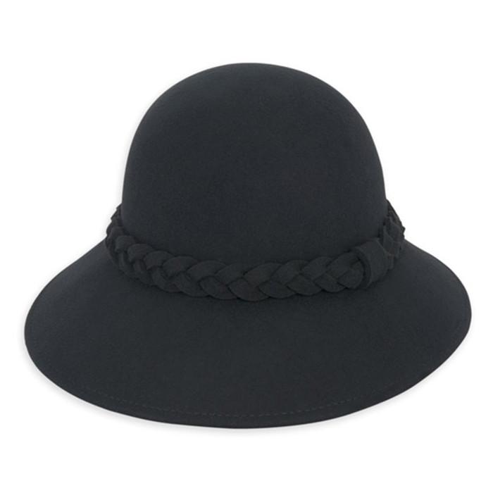 f6e589a7cf Adora - Fayne Wool Felt Cloche Hat