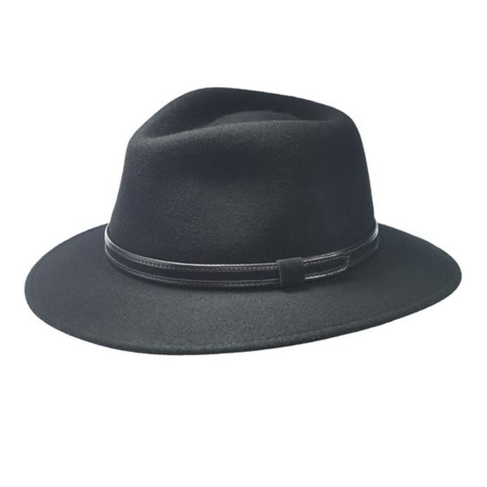 9e5acd5803c5f TLS Stefeno. TLS Stefeno - Hiker Italian Wool Fedora Hat