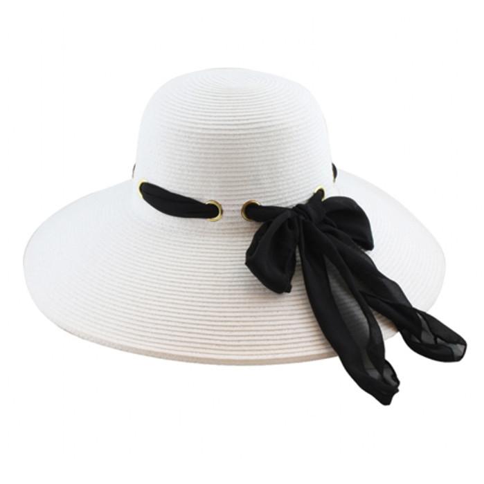 1fe1f4aeb California Hat Company - Ladies Sewn Braid Hat with Scarf