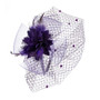Something Special - Lavender Ribbon and Lace Fascinator Hair Band Hat