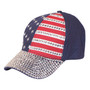 Something Special - Navy American Flag Jewel Cap