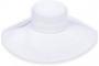 """Sun 'N' Sand - White Shoreline Hues 5"""" Brim Hat"""