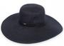 """Sun 'N' Sand - Black Shoreline Hues 5"""" Brim Hat"""