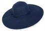 """Sun 'N' Sand - Navy Shoreline Hues 5"""" Brim Hat"""