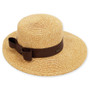 Sun 'N' Sand - Clara Paper Braid Hat Natural