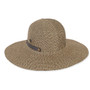 Sun 'N' Sand - Brown Scotdubin Foldable Tweed Hat