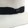 Bigalli - Australian Panama Hat with Black Ribbon Detail