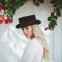 Conner Low Rise Wool Top Hat - Stock Women