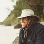 Conner - Boater Hat in Khaki - Stock Mens