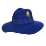 Conner - Allison Floppy Wool Hat in Navy - Full View