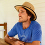 Conner- Hemp Sun Hat - Stock Photo