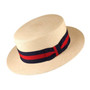 Scala - Panama Skimmer Hat in Natural - Full View
