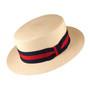 Scala - Panama Skimmer Hat in Natural - Full View