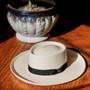 Scala - Masa Big Brim Grade 3 Gambler Panama Hat - Stock Image 1