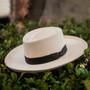 Scala - Masa Big Brim Grade 3 Gambler Panama Hat - Stock Image 2