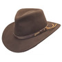 Dorfman Pacific - Indiana Jones Outback Hat - Profile