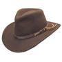 Dorfman Pacific - Indiana Jones Outback Hat - Profile