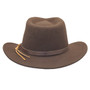 Dorfman Pacific - Indiana Jones Outback Hat - Back