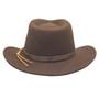 Dorfman Pacific - Indiana Jones Outback Hat - Back