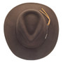 Dorfman Pacific - Indiana Jones Outback Hat - Top