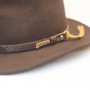 Dorfman Pacific - Indiana Jones Outback Hat - Close Up